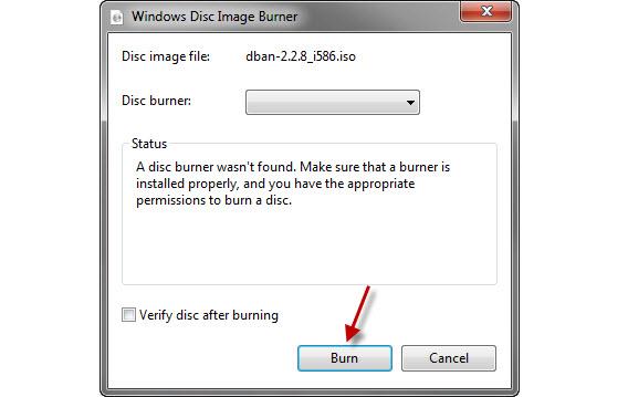 Windows tem utilitário para gravar imagens de CD
