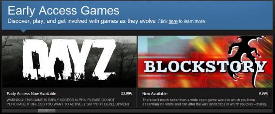 Games que podem ser acessados antes do lançamento no Steam