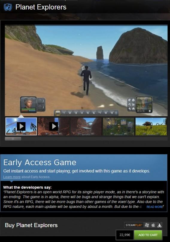 Pagar para acessar um game em desenvolvimento acontece constantemente