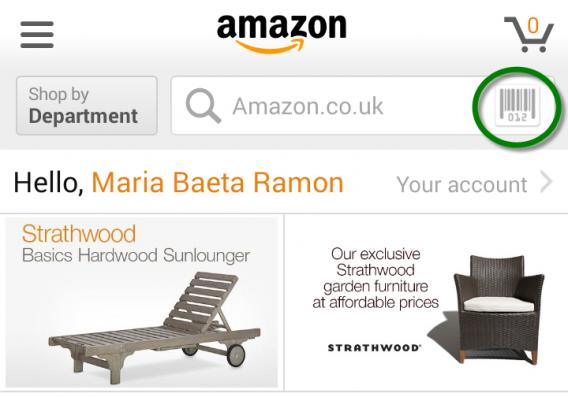 Amazon code-barres
