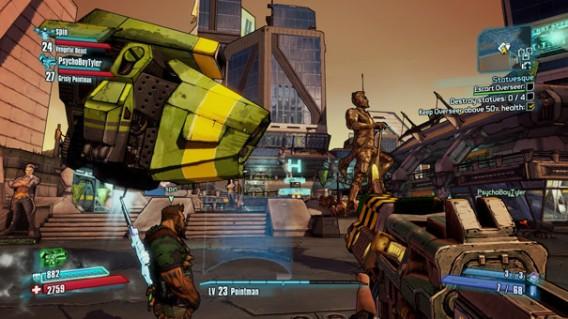 Bordelands 2 é orientado ao multiplayer