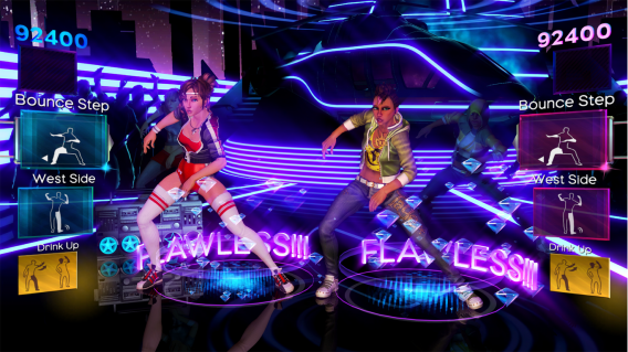 Games como Dance Central incentivam pessoas a jogar juntos