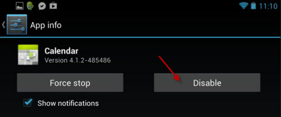 Disable-app-android