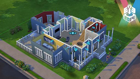 Editor de objetos e casas melhorou bastante no Sims 4