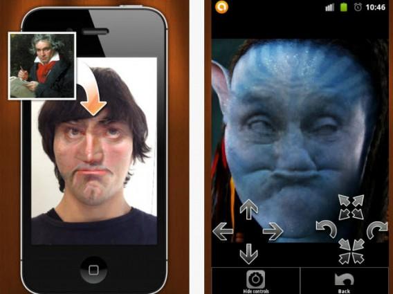 Misture seu rosto com o de pessoas famosas no Face Stealer
