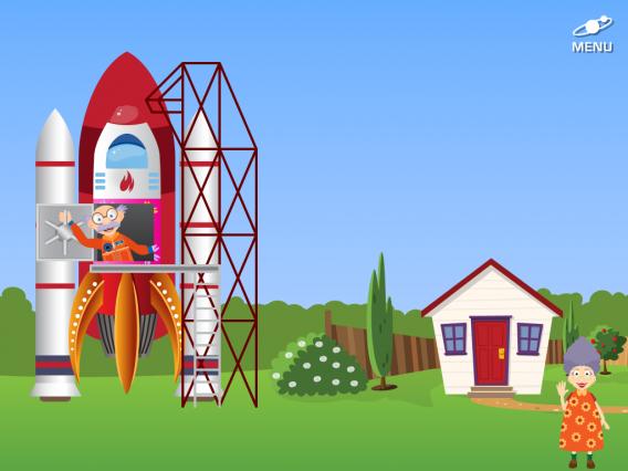 Grandpa in Space é um app para despertar o interesse dos cosmos nos pequenos