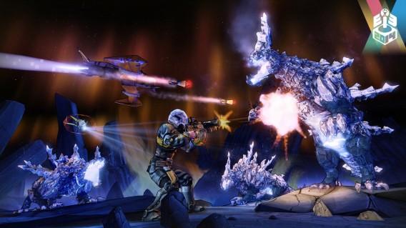 Sistema de combate será influenciado fortamente pela gravidade