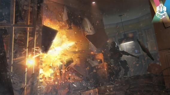 Parede serão protagonistas em Rainbow Six Siege
