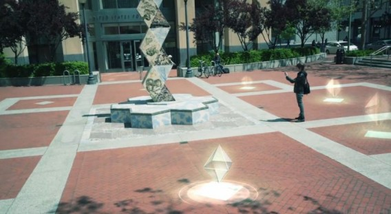 Ingress traz a realidade aumentada para cidades reais