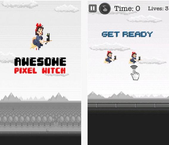 O Serviço de Entregas da Kiki é um dos jogos parecidos com Flappy Bird