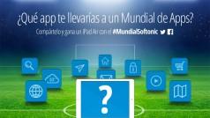 ¿Qué app te llevarías al #MundialSoftonic? Participa y gana un iPad Air