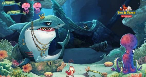 Mostre mais de 30 espécies marinhas em Oceano - Aventuras animais para crianças