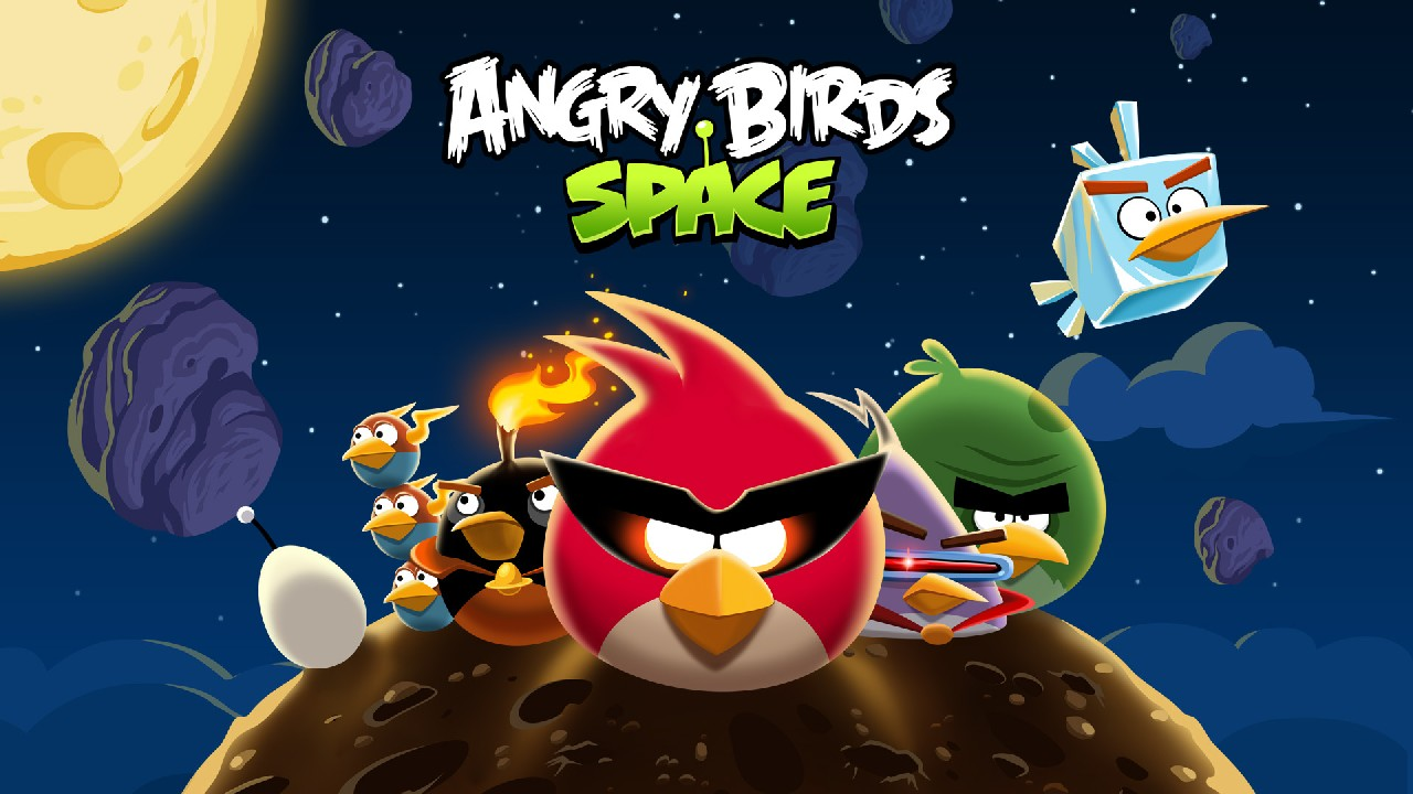 Angry Birds Space nunca se acaba