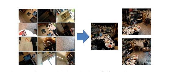 Placeraider consegue tirar fotos e reconstruir um ambiente