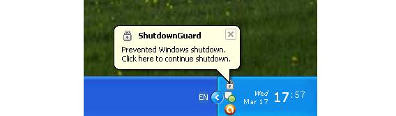 ShutdownGuard impede Windows de reiniciar sem a sua permissão