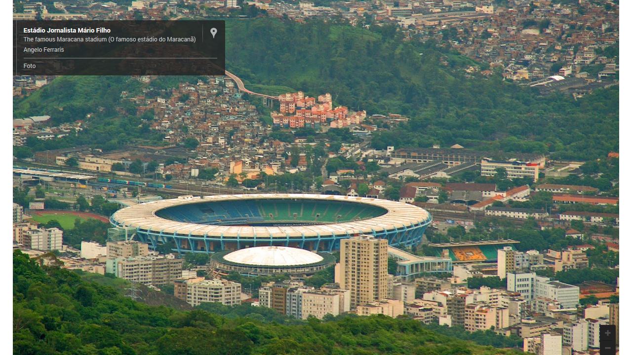 Google Maps te mete en los estadios del Mundial de Fútbol de Brasil