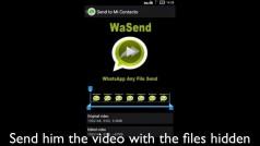 Envía vídeos largos o archivos pesados por WhatsApp