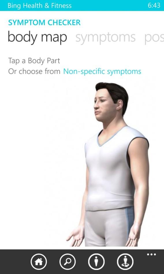 Bing - vérificateur de symptomes