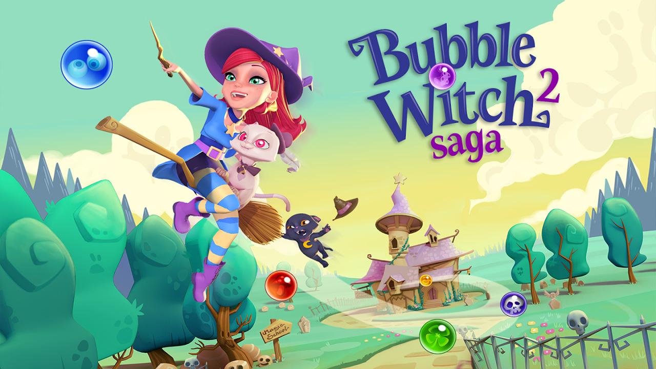Bubble Witch 2 Saga: 7 consejos para superar todos los niveles
