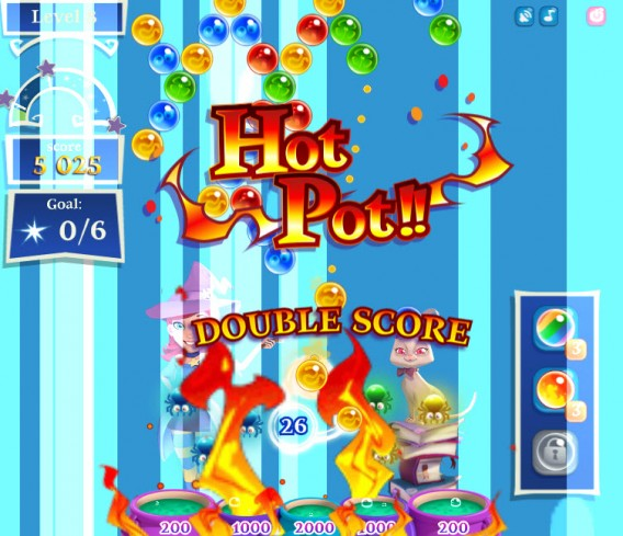 Bubble Witch Saga 2 multiplier