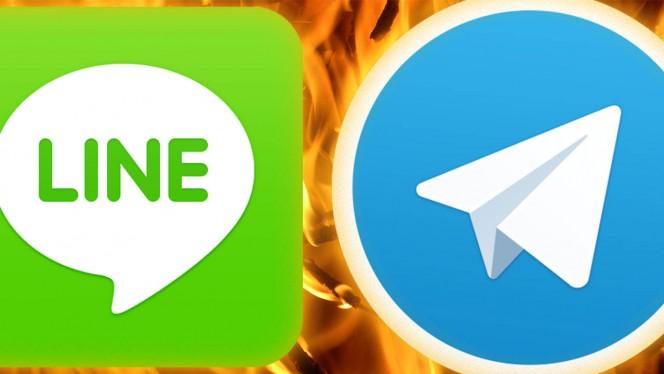 7 cosas que LINE hace mejor que Telegram