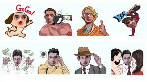 Crea stickers con tu cara con LINE Selfie Sticker