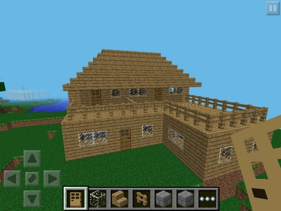 Minecraft-Pocket-Edition-House