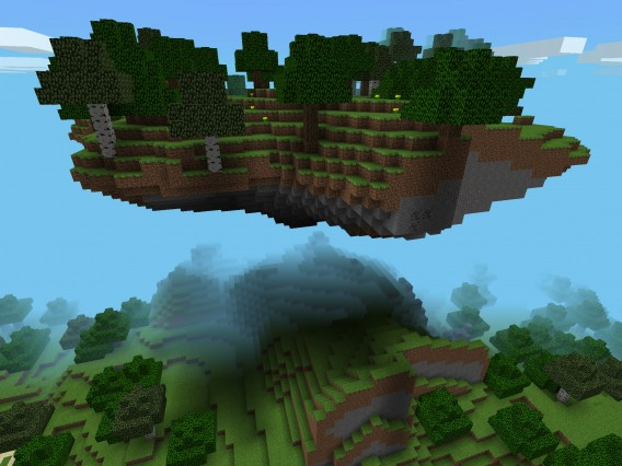 Minecraft-Pocket-Edition-Island-Seed