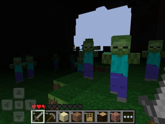 Minecraft-Pocket-Edition-Zombies