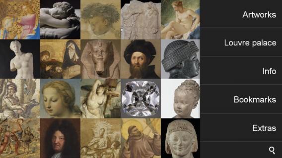 Aplicativo do Museu de Louvre o aproxima de obras históricas