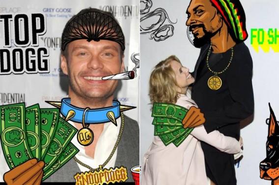 Snoop Lion's Snoopify faz montagens engraçadas com suas fotos