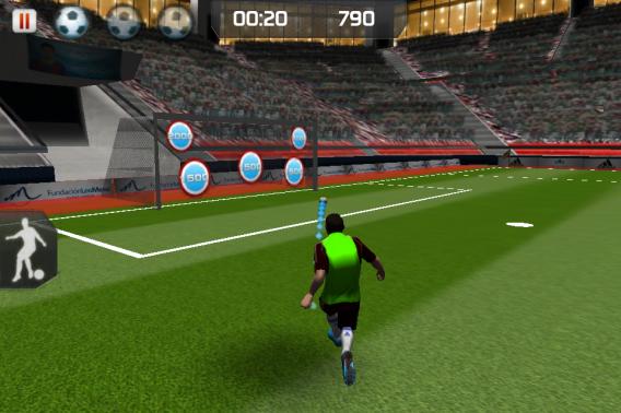 Training with Messi é um aplicativo para você treinar junto com o craque