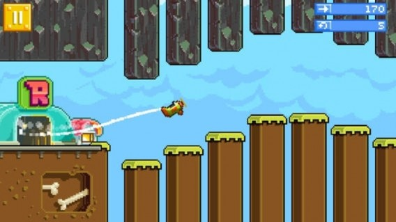Retry é um jogo independente do sucesso de Angry Birds