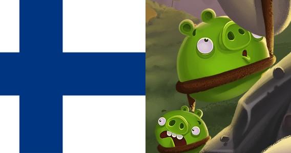Angry Birds Finlandia