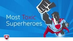Superman es más hábil que Thor o Wonder Woman… para cazar virus