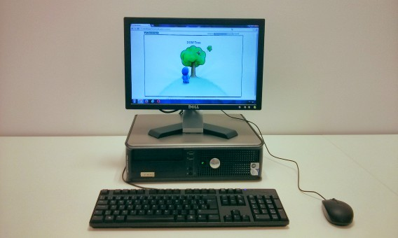 le PC sur lequel nous exécutons tous les tests