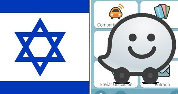 Waze app Israel