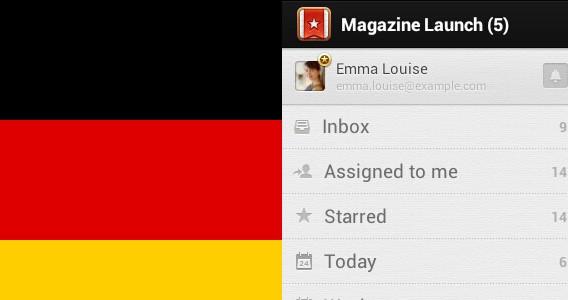Wunderlist Alemania