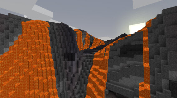 Vulcão do Mod Biomes O' Plenty