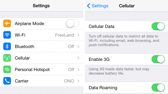How to activate and deactivate roaming on your phone