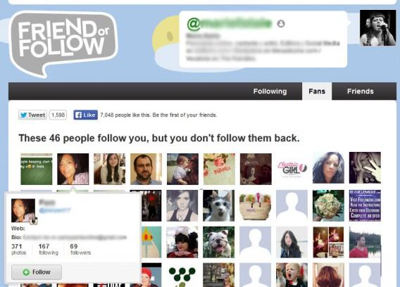Friend or Follow: une bonne manière de faire le tri