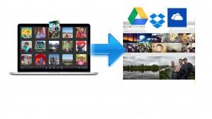 Cómo exportar fotos de iPhoto a Google Drive o Dropbox