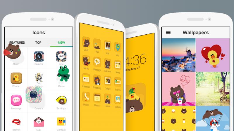 LINE Deco, personaliza tu teléfono con fondos e iconos