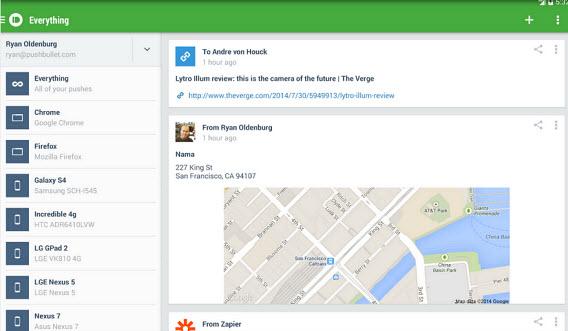 PushBullet facilita troca de arquivos entre o PC e o Android