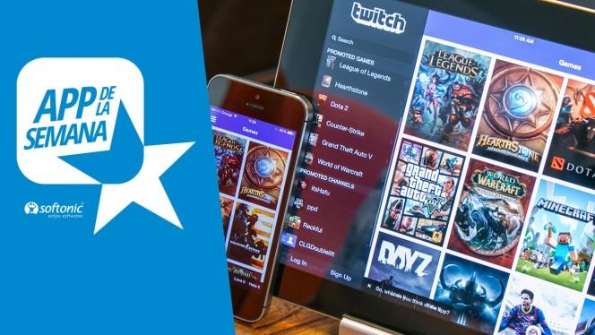 Los vídeos de los mejores jugadores están en Twitch, nuestra app de la semana