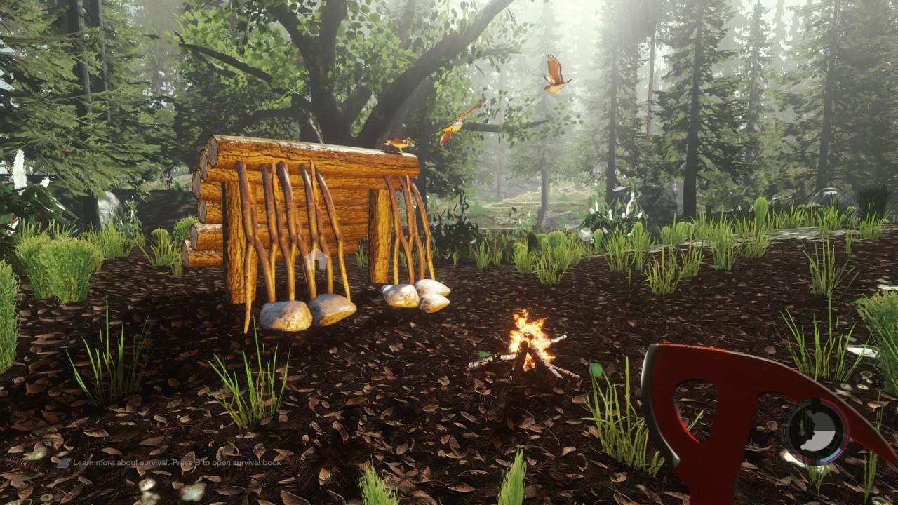 Mis primeros minutos en The Forest, el juego que enseña a sobrevivir