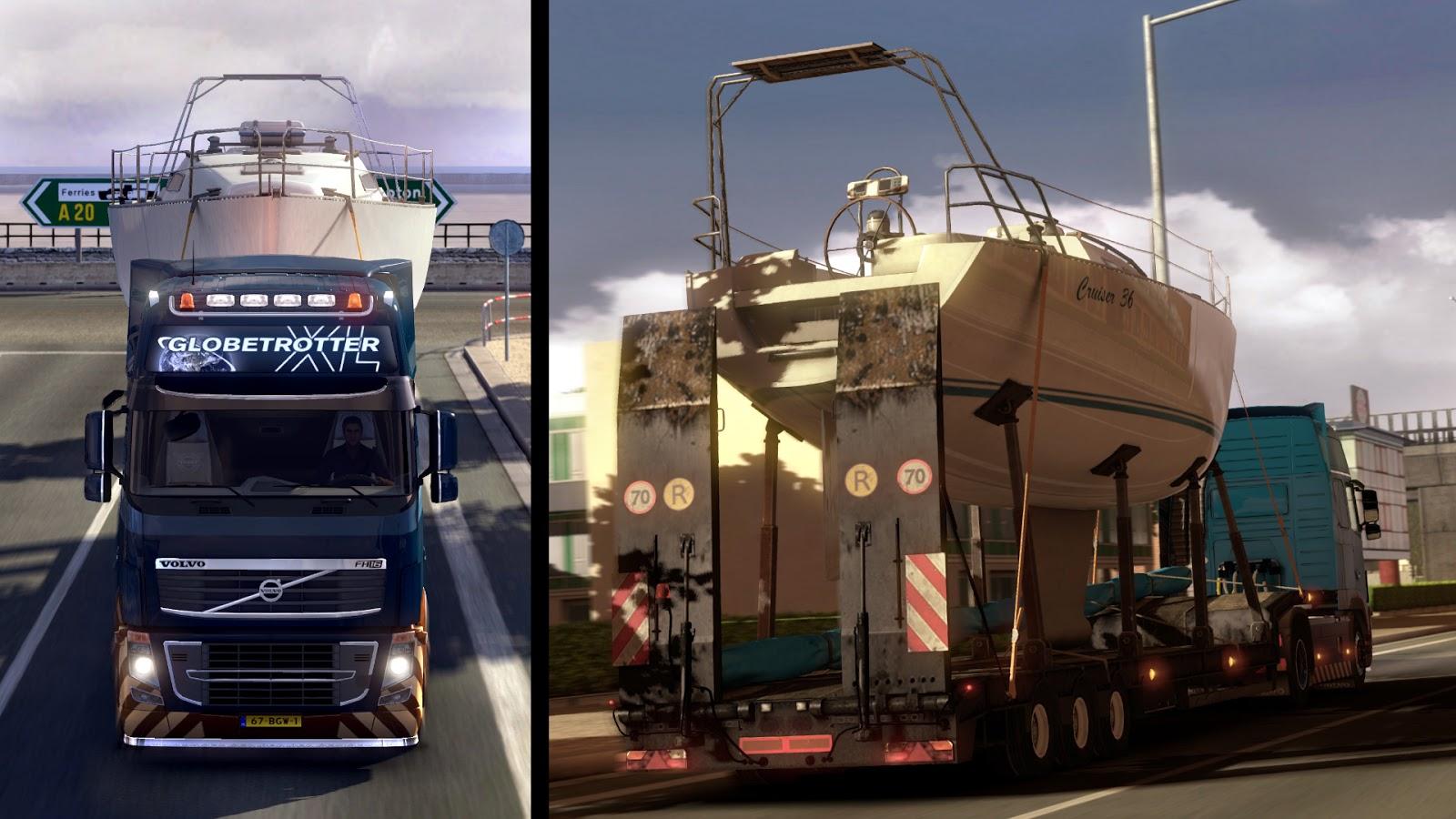 Euro Truck Simulator 2 añade nuevos retos oficiales