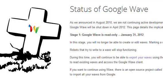 Google Wave RIP