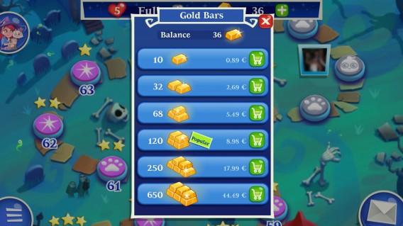 Valor dos itens dentro dos games é o mesmo nos três sistemas operacionais