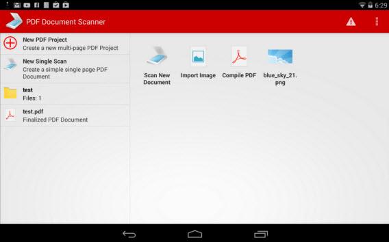 PDF Document Scanner transforma imagens em documentos PDF